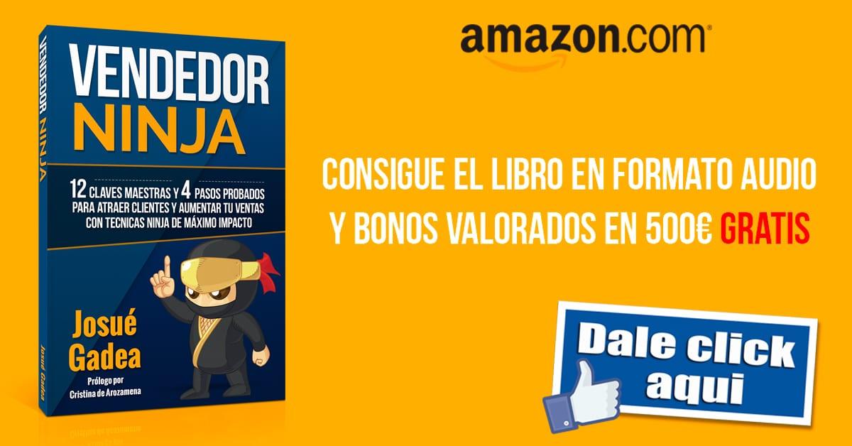 consigue el libro vendedor ninja en amazon españa y mexico
