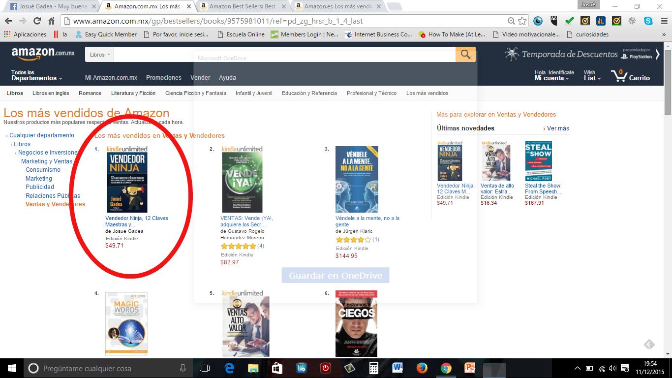 amazon ventas en españa de libros