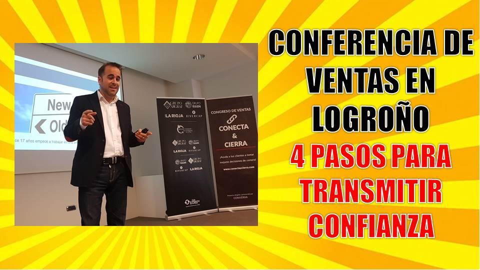 Conferencia de ventas en Logroño