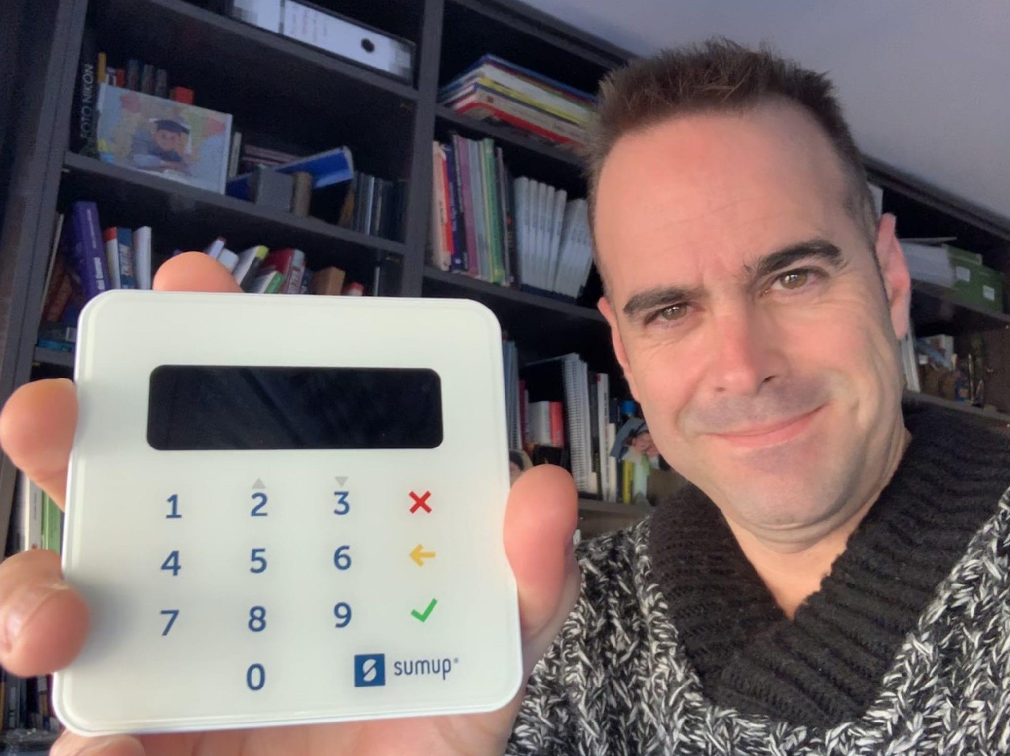 Opinión SumUp: el tpv móvil, barato para recibir pagos con tarjeta