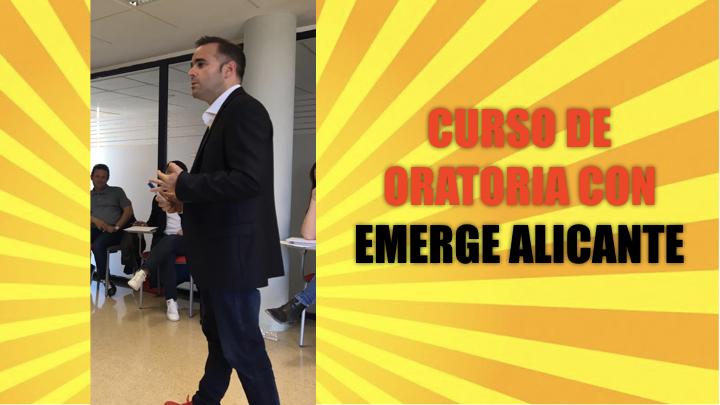 Curso de Oratoria de Emerge en Alicante