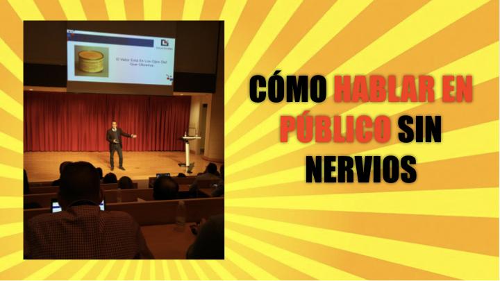 Como hablar en público sin nervios