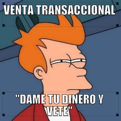 modelo de venta transaccional