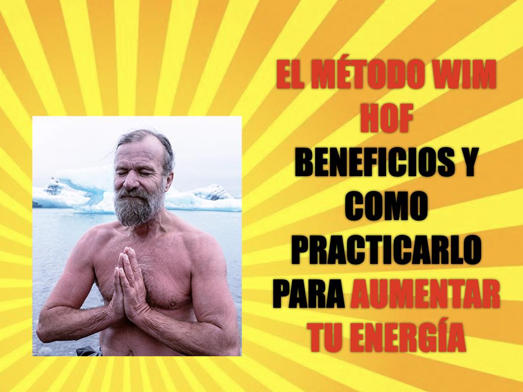 El método Wim Hof: beneficios y cómo practicarlo