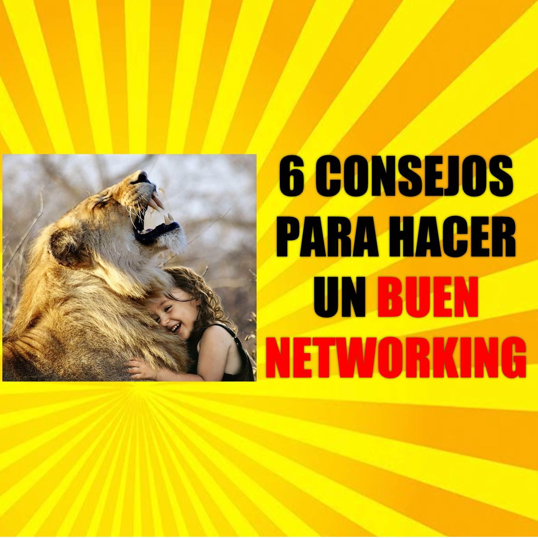 6 Consejos para hacer un buen networking
