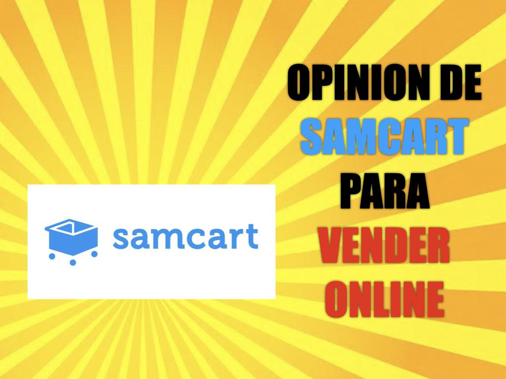 Opinión de Samcart para vender online