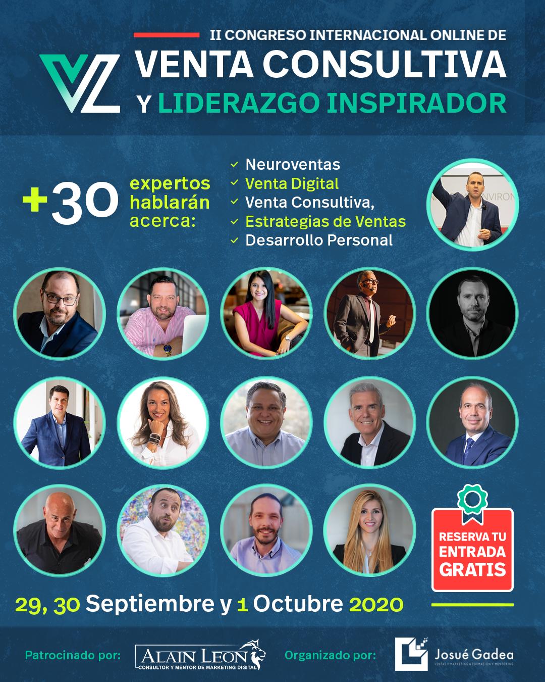 Vuelve el Congreso Internacional Online de Venta Consultiva y Liderazgo Inspirador