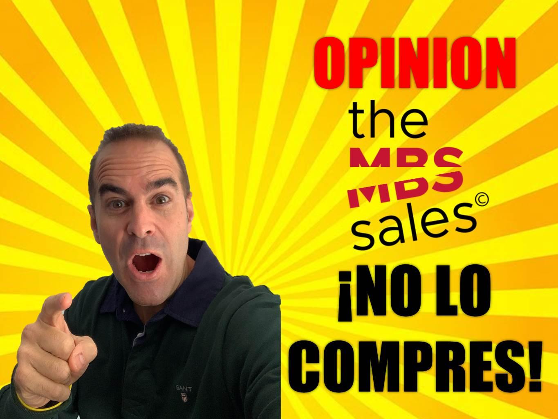 Opinión MBSales ¡No lo compres!