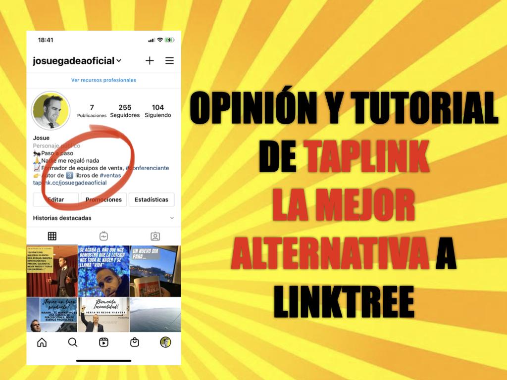 Opinión y tutorial de TapLink, la mejor alternativa a Linktree